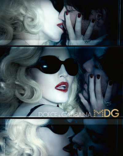 CAMPAIGN Madonna & Tyson Ballou for Dolce & Gabbana MDG Eyewear by Steven Klein. www.imageamplified.com, Image Amplified (4)