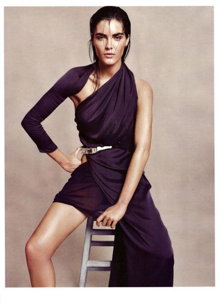 HARPER'S BAZAAR UK Hilary Rhoda in Goddess Complex by Paola Kudacki. www.imageamplified.com, Image Amplified (8)