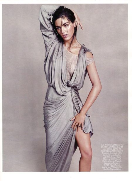 HARPER'S BAZAAR UK Hilary Rhoda in Goddess Complex by Paola Kudacki. www.imageamplified.com, Image Amplified (4)