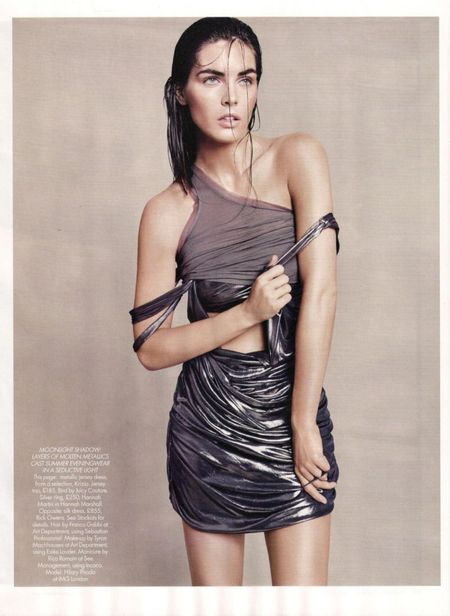 HARPER'S BAZAAR UK Hilary Rhoda in Goddess Complex by Paola Kudacki. www.imageamplified.com, Image Amplified (1)