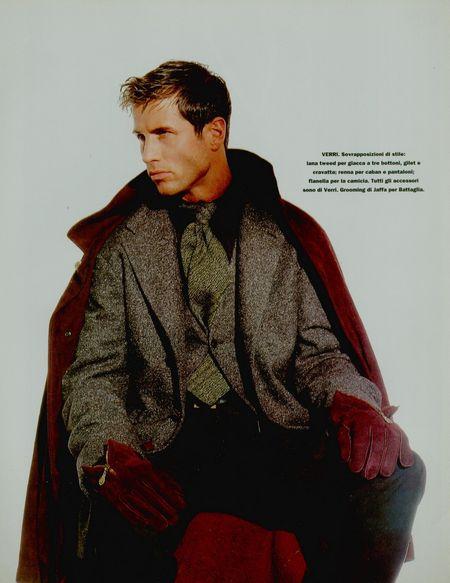 TIME CAPSULE Dark Glamour for Mondo Uomo FallWinter 1994 by Nunzio de Martino. www.imageamplified.com, Image Amplified (2)