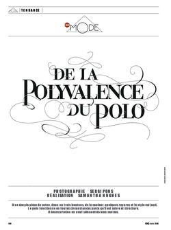 GQ FRANCE Will Chalker in De La Polyvalence Du Polo by Sergi Pons. www.imageamplified.com, Image Amplified