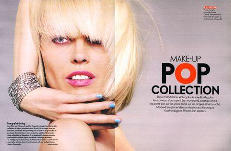 ELLE FRANCE Eva Herzigova in Pop Collection by Jan Welters (6)