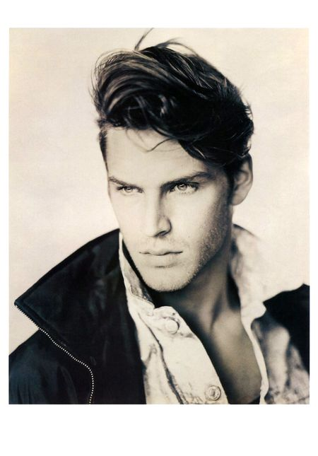 TIME CAPSULE David Boals in Vogue Hommes France SpringSummer 1993 by Paolo Roversi. www.imageamplified.com, Image Amplified (1)