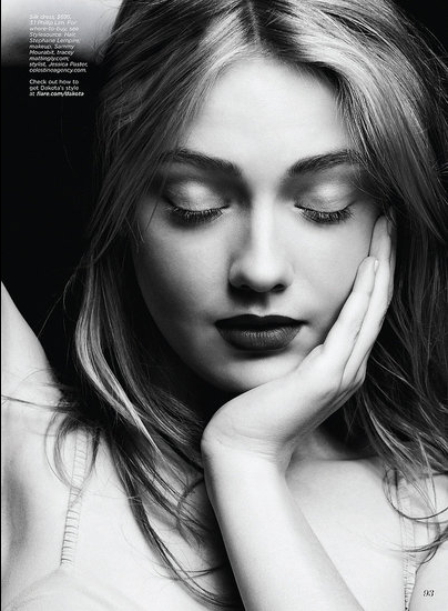 FLARE MAGAZINE Dakota Fanning by Max Abadian. www.imageamplified.com, Image Amplified (3)
