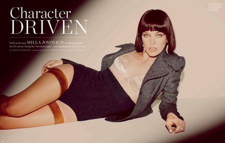 LOS ANGELES TIMES MAGAZINE Milla Jovovich in Milla's Moment by Guy Aroch. Hayley Atkin, September 2010, www.imageamplified.com, Image Amplified (2)