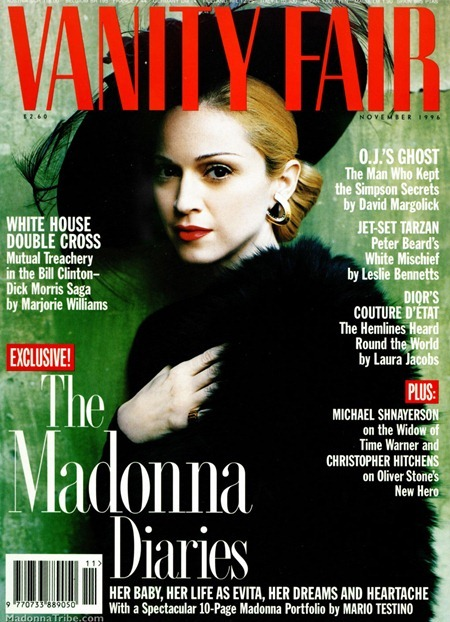 STYLE REWIND Madonna as Evita for Vanity Fair, November 1996 by Mario Testino. www.imageamplified.com, Image Amplified (24)