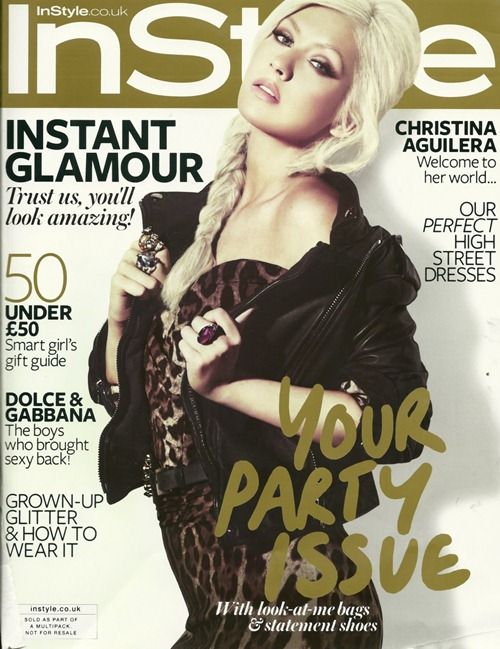 INSTYLE UK Christina Aguilera by Nino Munoz. December 2010, www.imageamplified.com, Image Amplified (1)