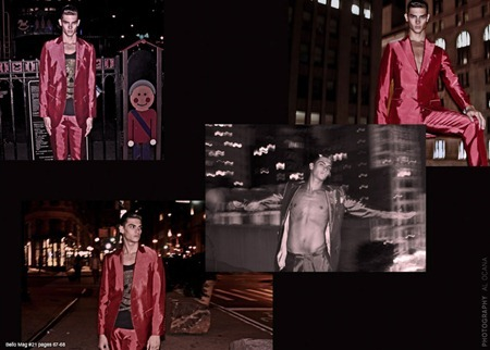 BELLO MAGAZINE Russel Giardina in Painting the Town Red by Al Ocana. www.imageamplfied.com, Image Amplified (7)