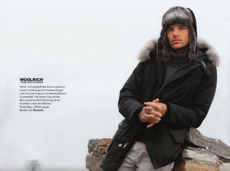 campaign michael gstoettner for bogner woolrich winter. Black Bedroom Furniture Sets. Home Design Ideas