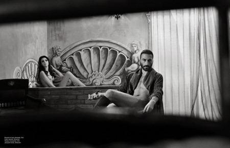 STILE IN MAGAZINE Sasha Marini & Samara Peres in Das Herrenhaus by Enrico Odano & Paolo Inselvini. www.imageamplified.com, Image Amplified (2)