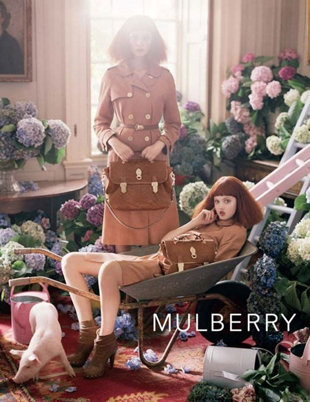 CAMPAIGN Lindsay Wixson & Nimue Smit for Mulberry Spring 2011 by Tim Walker. Edward Enninful, www.imageamplified.com, Image Amplified (6)