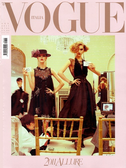 VOGUE ITALIA: The Power of Glamour by Steven Meisel. January 2011, Karl Templer, www.imageamplified.com, Image Amplified