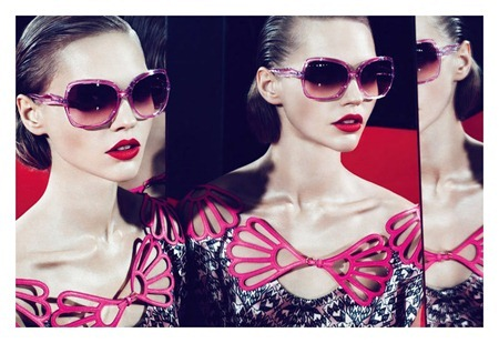 CAMPAIGN Sasha Pivovarova, Kasia Struss & Querelle Jansen for Miu Miu Spring 2011 by Mert & Marcus. www.imageamplified.com, Image Amplified (2)