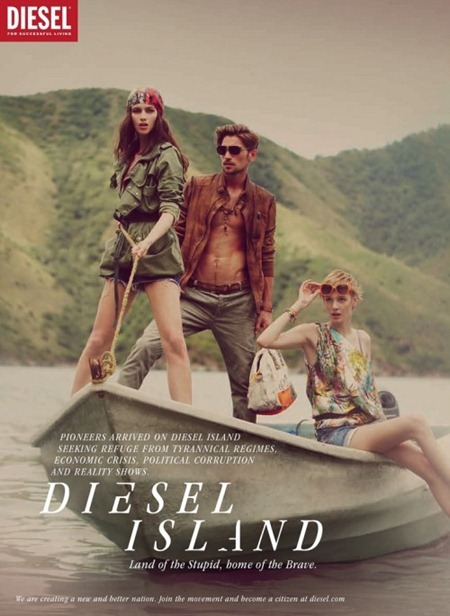 CAMPAIGN Randy Lebeau, Hereith Paul, and Texas Olsson in Diesel Island Spring 2011 by Guy Aroch. www.imageamplified.com, Image Amplified (3)