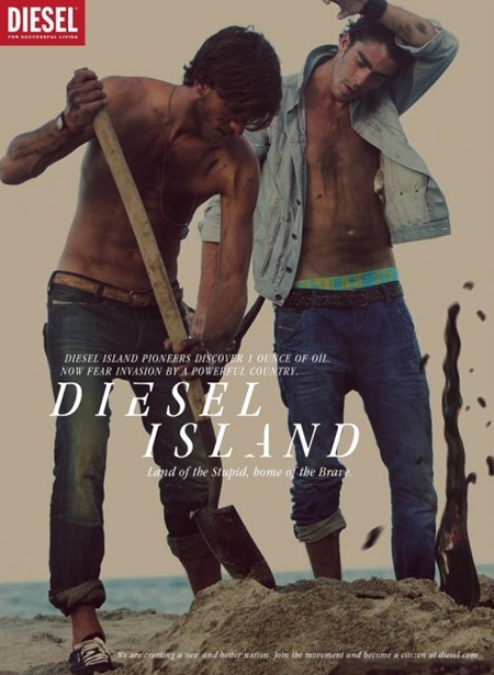 CAMPAIGN Randy Lebeau, Hereith Paul, and Texas Olsson in Diesel Island Spring 2011 by Guy Aroch. www.imageamplified.com, Image Amplified (9)