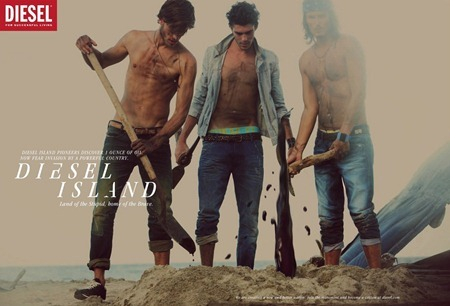 CAMPAIGN Randy Lebeau, Hereith Paul, and Texas Olsson in Diesel Island Spring 2011 by Guy Aroch. www.imageamplified.com, Image Amplified (16)