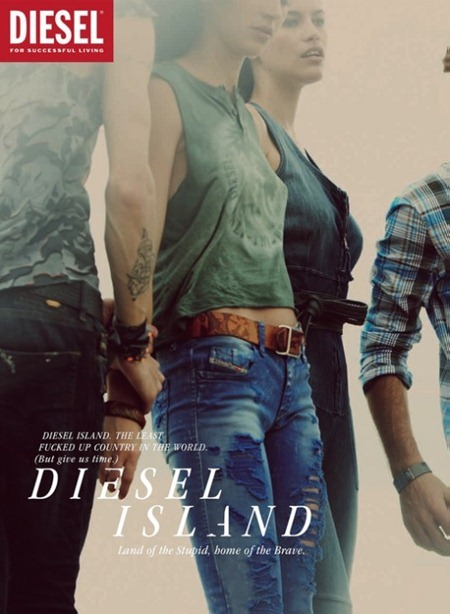 CAMPAIGN Randy Lebeau, Hereith Paul, and Texas Olsson in Diesel Island Spring 2011 by Guy Aroch. www.imageamplified.com, Image Amplified (19)