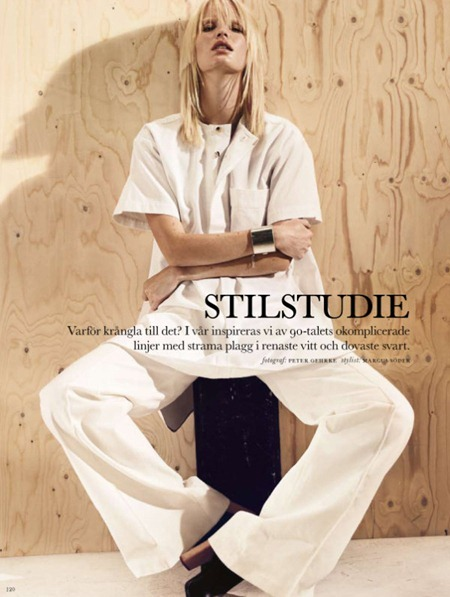 ELLE SWEDEN Caroline Winberg in Stilstudie by Peter Gehrke. January 2011, www.imageamplified.com, Image Amplified (7)