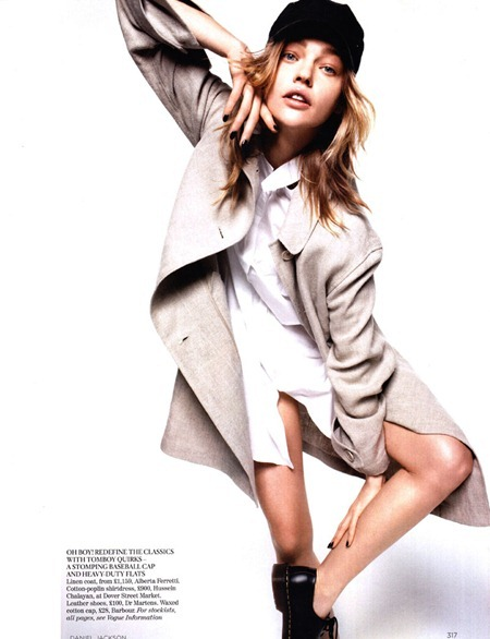 VOGUE UK Sasha Pivovarova in Demob! by Daniel Jackson. Kate Phelan, March 2011, www.imageamplified.com, Image Amplified (7)