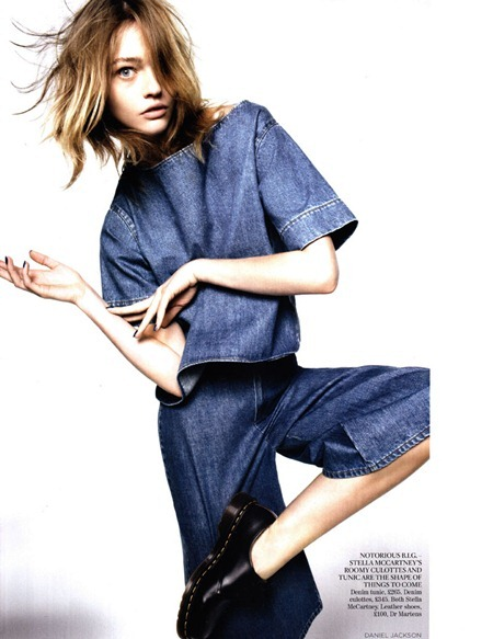 VOGUE UK Sasha Pivovarova in Demob! by Daniel Jackson. Kate Phelan, March 2011, www.imageamplified.com, Image Amplified (12)