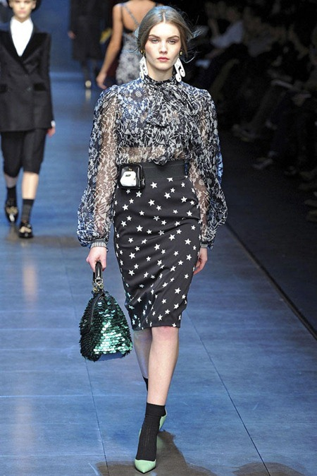 MILAN FASHION WEEK Dolce & Gabbana Fall 2011. www.imageamplified.com, Image Amplified (58)