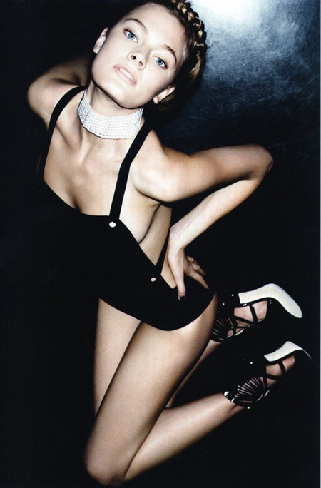 NUMERO MAGAZINE Constance Jablonski in Magnétique by Ben Hassett. April 2011, www.imageamplified.com, Image Amplified (2)