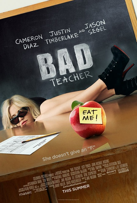 cameron diaz bad teacher trailer. CINEMA SCAPE Bad Teacher