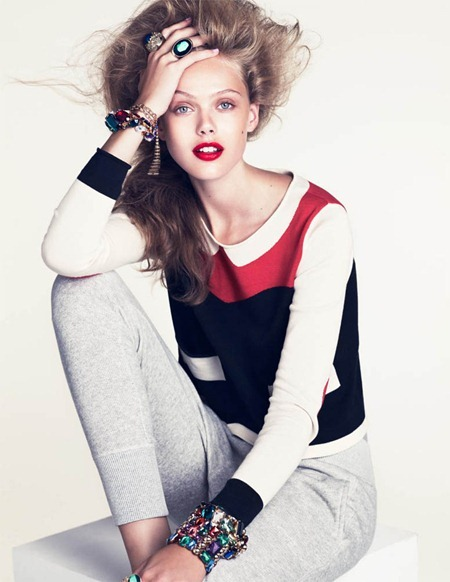 H&M MAGAZINE Frida Gustavsson in New Spring Looks by Andreas Sjodin. Naomi Itkes, Winter 2010, www.imageamplified.com, Image Amplified (2)