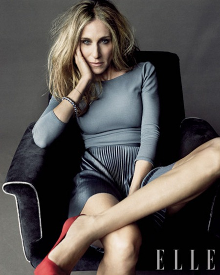 ELLE MAGAZINE Sarah Jessica Parker by Tom Munro. January 2011, www.imageamplified.com, Image Amplified (2)