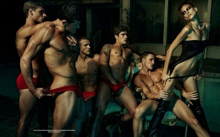 S MAGAZINE Sean Sullivan, Duke  Dloouhy, Joel Rush, Greg Plitt, Steve Boyd & Ana Catharina in Brute Camp by Matthias Vriens-McGrath. Timothy Reukauf, 2010, www.imageamplified.com, Image Amplified (7)_thumb