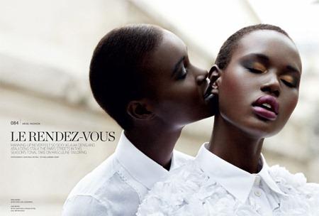 ARISE MAGAZINE Ajak Deng & Ataui Deng in Le Rendez-vouz by John-Paul Pietrus. Sabrina Henry, www.imageamplified.com, Image Amplified (7)