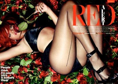 GQ MAGAZINE UK Rihanna in Red Alert by Simon Emmett. Sascha Lilie, January 2011, www.imageamplified.com, Image Amplified (13)