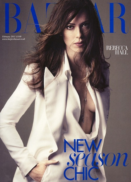 HARPER'S BAZAAR UK Rebecca Hall in Mad About the Girl by Alexi Lubomirski. Vanessa Coyle, February 2011, www.imageamplified.com, Image Amplified (1)
