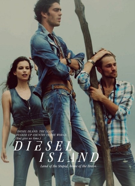 CAMPAIGN Randy Lebeau, Hereith Paul, and Texas Olsson in Diesel Island Spring 2011 by Guy Aroch. www.imageamplified.com, Image Amplified (8)