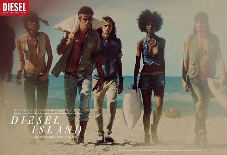 CAMPAIGN Randy Lebeau, Hereith Paul, and Texas Olsson in Diesel Island Spring 2011 by Guy Aroch. www.imageamplified.com, Image Amplified (13)