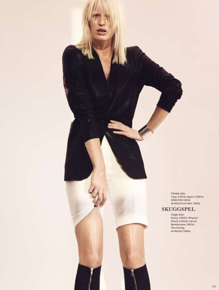 ELLE SWEDEN Caroline Winberg in Stilstudie by Peter Gehrke. January 2011, www.imageamplified.com, Image Amplified (6)