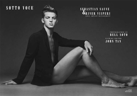 CARBON COPY MAGAZINE Sebastian Sauve & River Viiperi in Sotto Voce by Bell Soto. John Tan, www.imageamplified.com, Image Amplified (5)