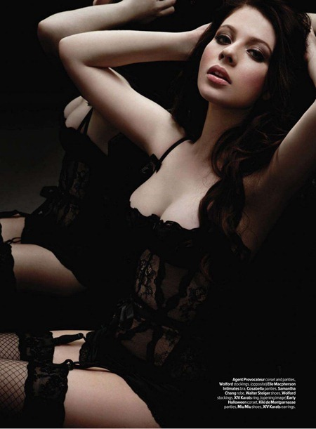 MAXIM MAGAZINE Michelle Trachtenberg in Take Her Home Tonight by Randall Slavin. March 2011, www.imageamplified.com, Image Amplified (1)
