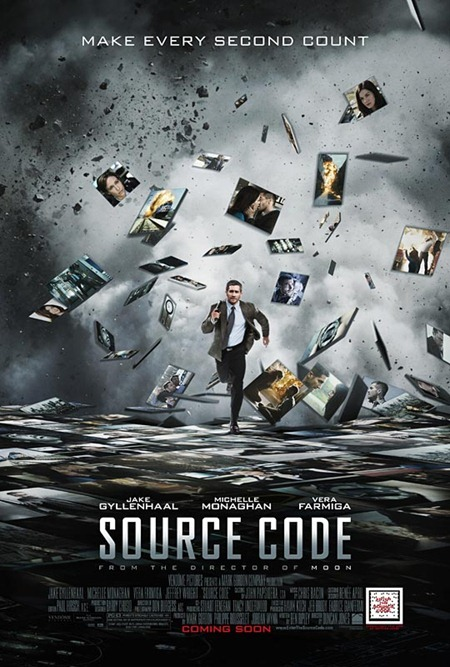 CINEMA SCAPE Source Code Starring Jake Gyllenhaal, Out April 1st 2011. www.imageamplified.com, Image Amplified