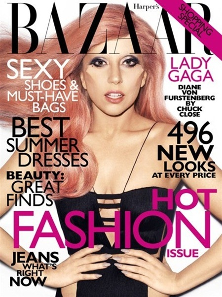 HARPER'S BAZAAR MAGAZINE Lady Gaga in Going Gaga by Terry Richardson. May 2011, www.imageamplified.com, Image Amplified