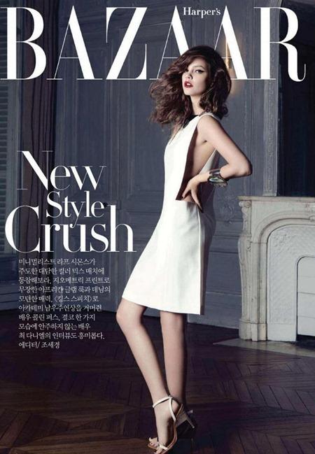 HARPER'S BAZAAR KOREA Barbara Palvin in Delicate Beauty by Rama. April 2011, www.imageamplified.com, Image Amplified (1)