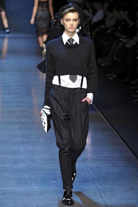 MILAN FASHION WEEK Dolce & Gabbana Fall 2011. www.imageamplified.com, Image Amplified (78)