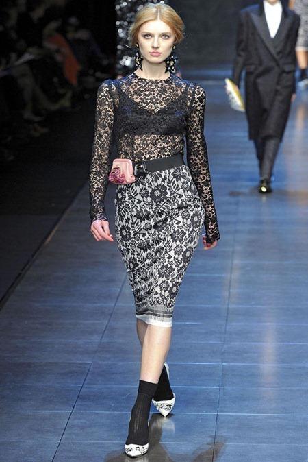 MILAN FASHION WEEK Dolce & Gabbana Fall 2011. www.imageamplified.com, Image Amplified (54)