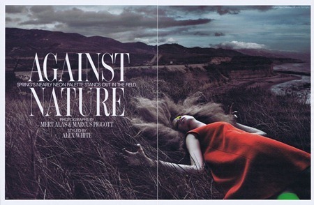 W MAGAZINE Frida Gustavsson, Caroline Brasch Nielsen & Hailey Clauson in Against Nature by Mert & Marcus. Alex White, March 2011, www.imageamplified.com, Image Amplified (7)