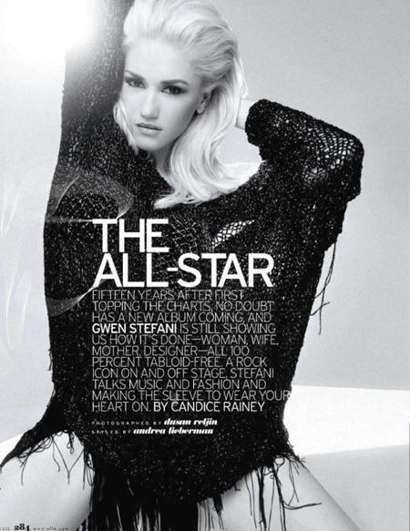 ELLE MAGAZINE Gwen Stefani in the All-Star by Dusan Reljin. Andrea Lieberman, May 2011, www.imageamplified.com, Image Ampilfied (5)