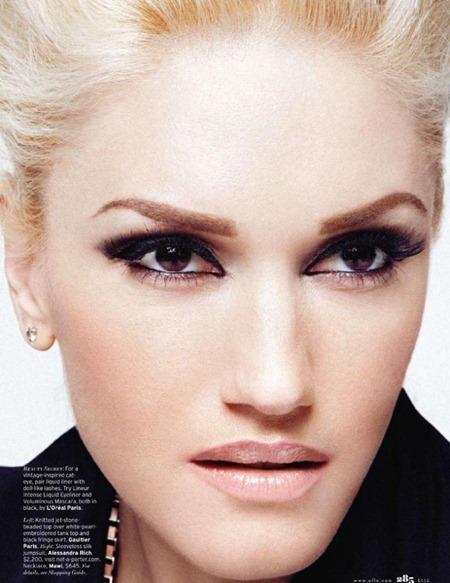 ELLE MAGAZINE Gwen Stefani in the All-Star by Dusan Reljin. Andrea Lieberman, May 2011, www.imageamplified.com, Image Ampilfied (3)