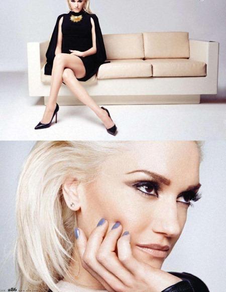 ELLE MAGAZINE Gwen Stefani in the All-Star by Dusan Reljin. Andrea Lieberman, May 2011, www.imageamplified.com, Image Ampilfied (4)