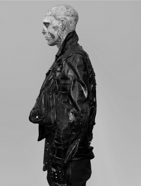 ARENA HOMME MAGAZINE Seth Kuhlmann, Brian Shimansky & Rick Genest in Anatomy of a Murder by Steven Klein. www.imageamplified.com, Image Amplified (19)