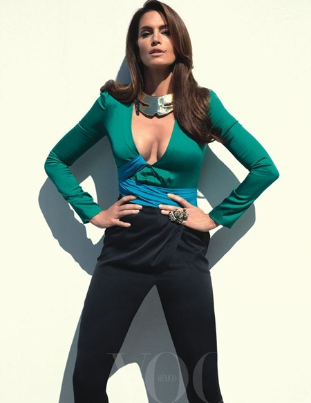 VOGUE MEXICO Cindy Crawford by Tesh. May 2011, Sarah Gore-Reeves, www.imageamplified.com, Image Amplified (3)